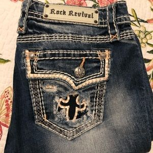 Rock Revival Jeans Kai boot cut size 29